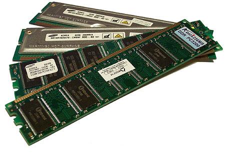 RAM operační paměť